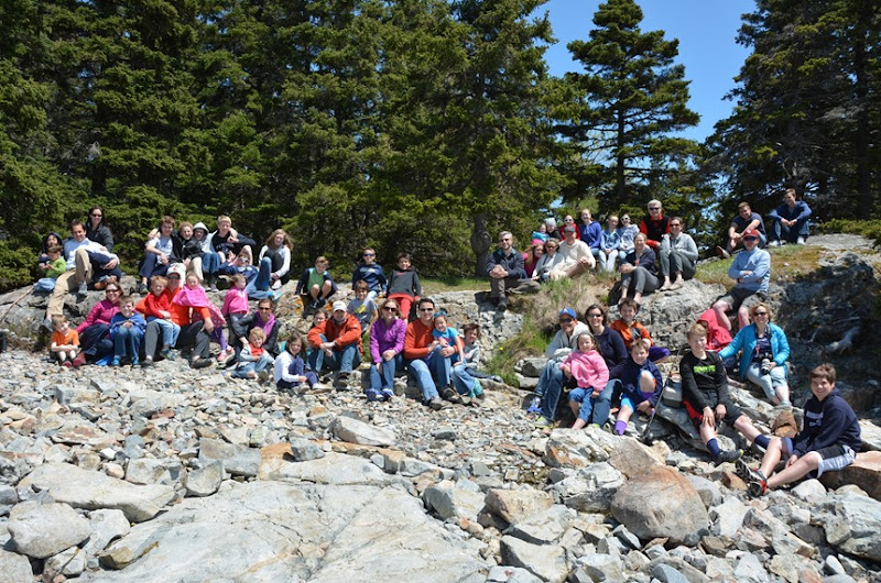 Bar Harbor Group Photo May 2015