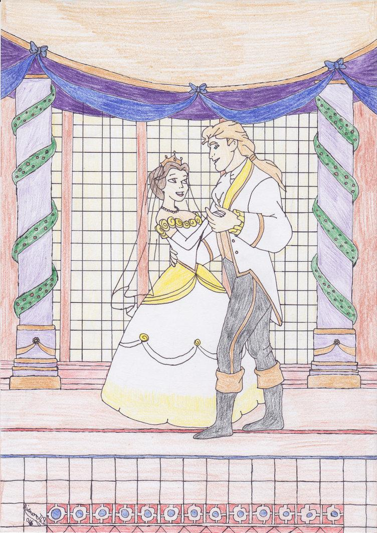Disney Weddings - Belle 1 by