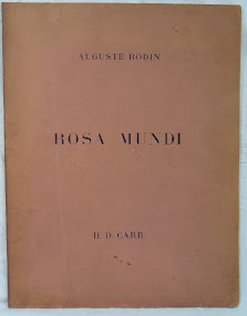 Cover of Aleister Crowley's Book Rosa Mundi