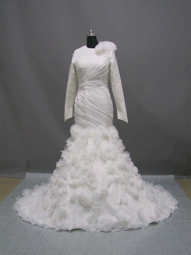 arabic wedding dress V21