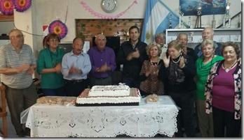 El centro de jubilados de Las Toninas cumplió 25 años