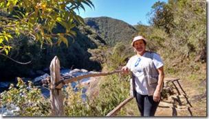 Trilha para Cachoeira Sto Isidro