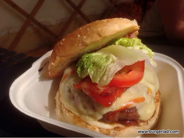 Harriet's Jolly Nice Burger