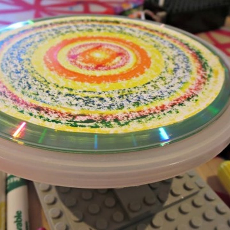 How to Build a Lego Spin Art Machine