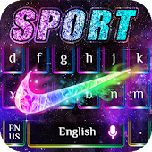 21.  Keyboard theme for Sports