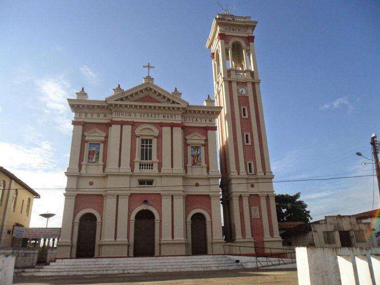 Igreja Matriz de São Sebastião - Carutapera, Maranhao