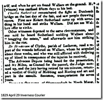 Inverness Courier 29 April 1829