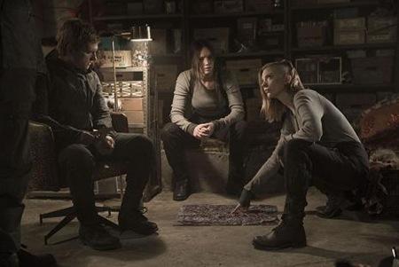 Josh Hutcherson, Natalie Dormer, Jennifer Lawrence - Mockingjay