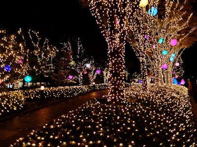 """新宿サザンテラス """"小道"""" のクリスマスイルミネーション2015ー2016"""