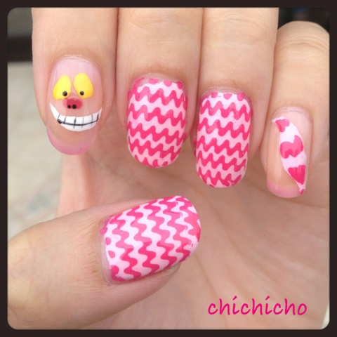 Video The Vanishing Cheshire Cat With Ylin Color Change Nail Polish