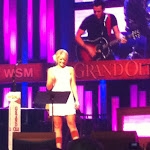 A show we saw at the Grand Ole Opry (Lauren Alaina performing) in Nashville TN 07252012-02