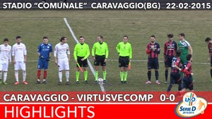 Caravaggio - VirtusVecomp - Highlights del 22-02-2015