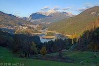 Zurück an der Unterkunft beim Lago di Cadore.