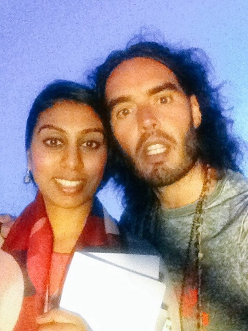 Russell Brand on Desi girl's blog