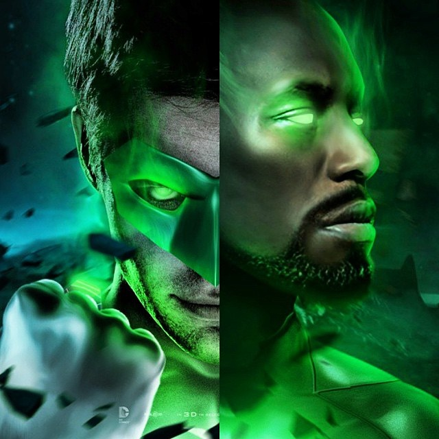 Tyrese to play Green Lantern