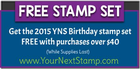 2015 special bday stamp set badge