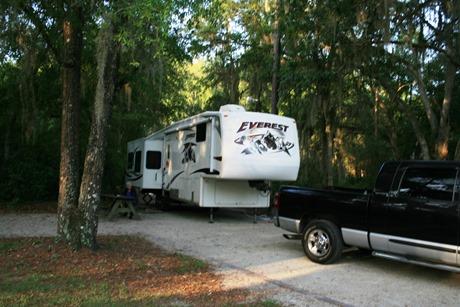 Our campsite SFSP