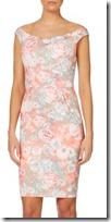 Untold Off Shoulder Floral Print Dress
