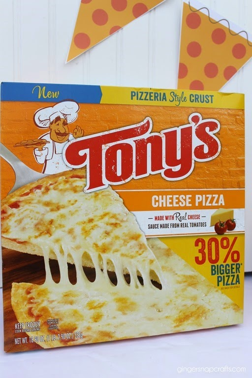 Tony's Cheese Pizza