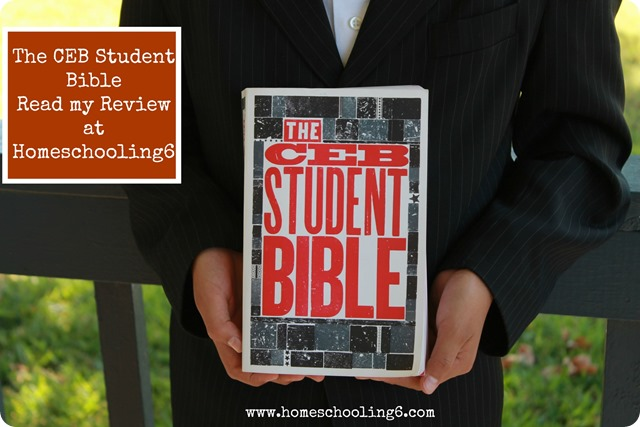 The CEB Student Bible a Review by Homeschooling6