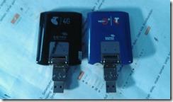 Modem Sierra 312U Biru dan Modem Sierra 320U hitam