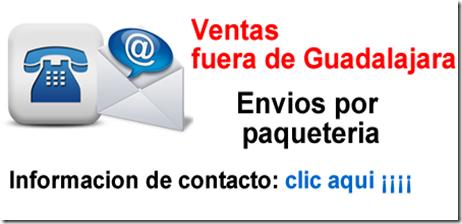 Guadalajara envios
