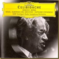 Ravel Rapsodia Celibidache DG