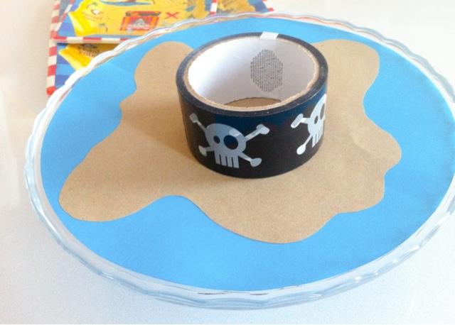 Alzata cupcake a tema pirata