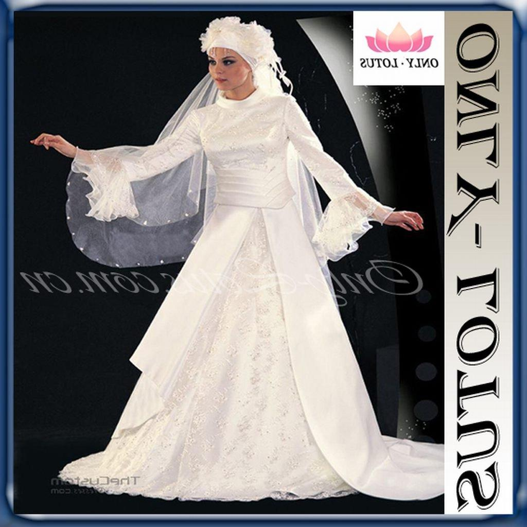 Buy muslim wedding dress,