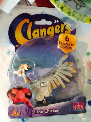 2015 Clangers Toys - Iron Chicken