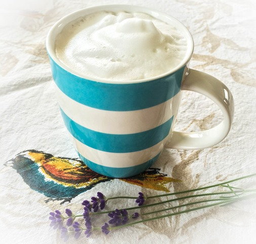lavender london fog latte