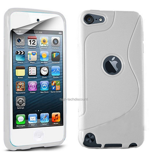 Housse etui coque silicone gel pour apple ipod touch 6eme for Housse ipod touch