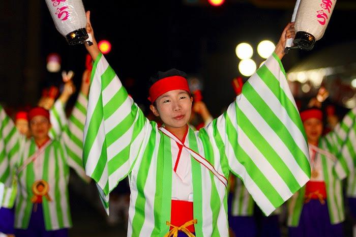 第59回よさこい祭り☆本祭2日目・升形地域競演場7☆上2目1017