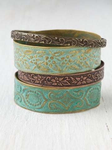 bijoux turquoises