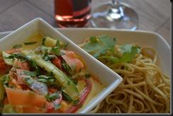 Thai Green Veg Noodles