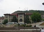 Kastamonu merkez, Cumhuriyet Meydanı ve Hükümet Konağı - valilik (Kastamonu city center, Republic Square and governorship)
