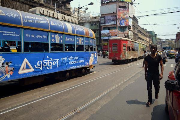индия калькутта трамвай
