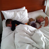 Sleeping in the hotel at Branson MO 08192012
