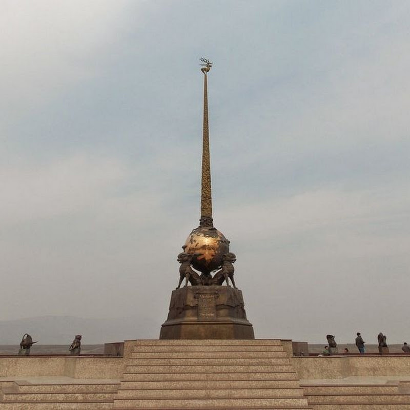 The Geographic Center of Asia