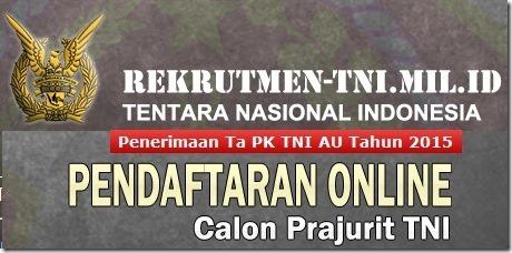 Penerimaan CPNS 2015 - TNI Angkatan Udara 2015