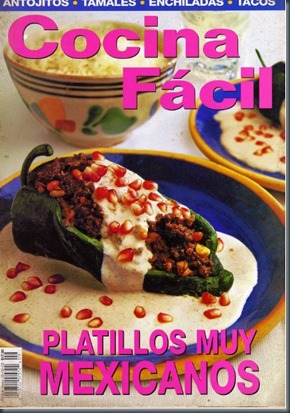 Cocina facil platillos mexicanos