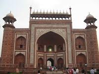 Taj Mahal Gate, Agra