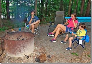 Nate Hannah Josh Camping Kerr Dam 081