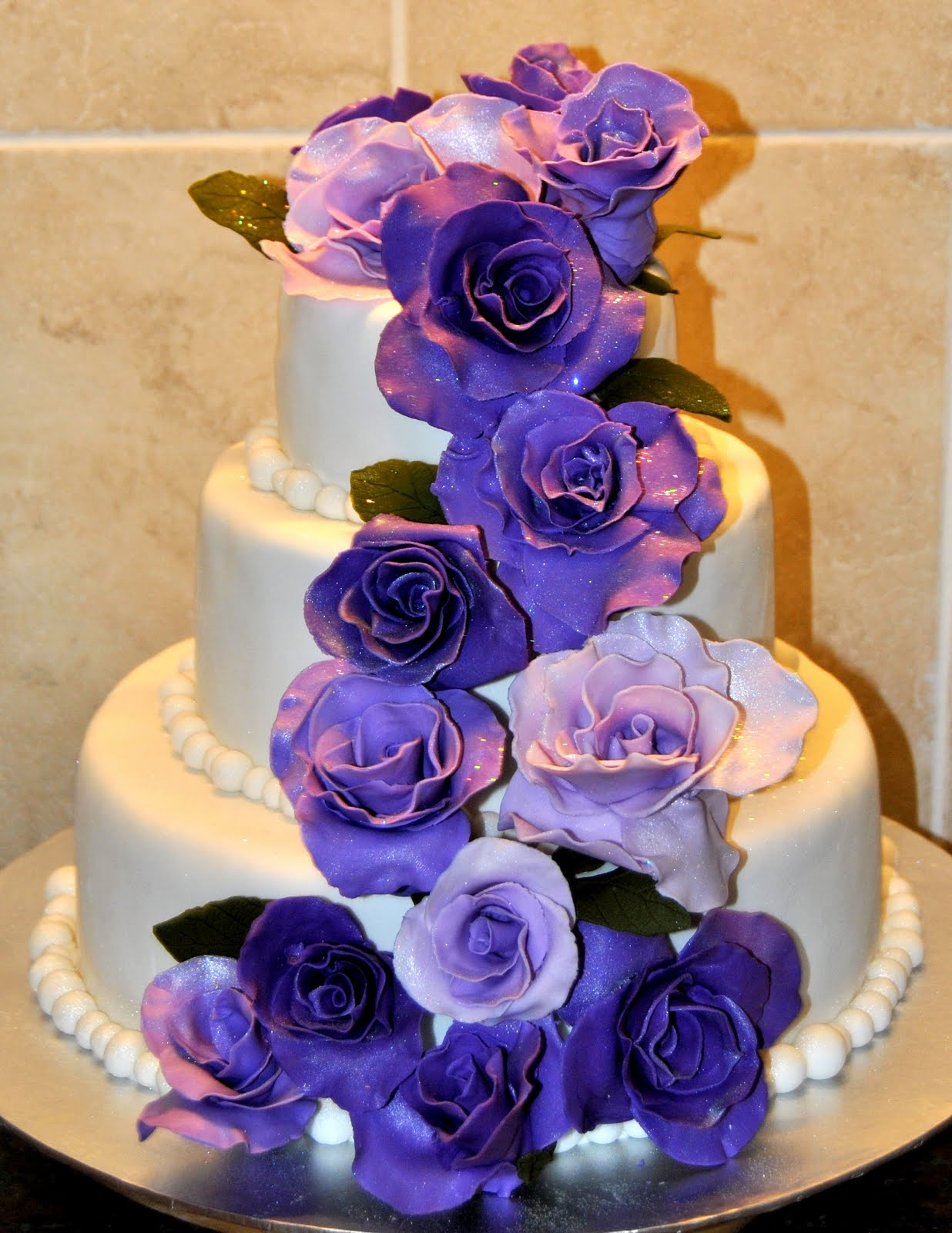 Aurimar s blog purple and silver wedding