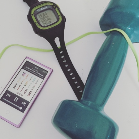 getting fit with garmin forerunner