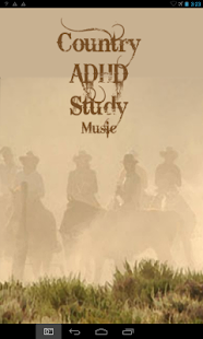 ADHD Country Study Music - screenshot