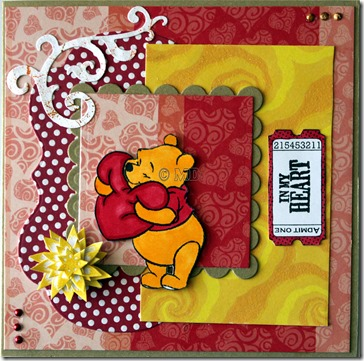 Winnie the Pooh met een hart 1