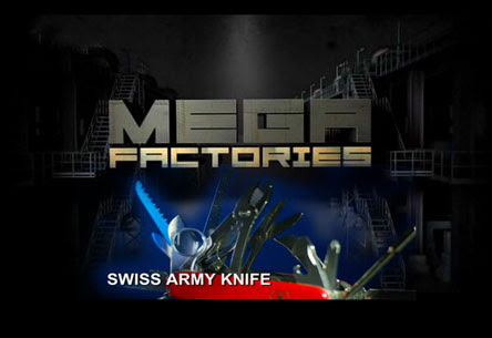 Megafabryki Szwajcarski scyzoryk / Megafactories Swiss Army Knife (2011) PL.TVRip.XviD / Lektor PL