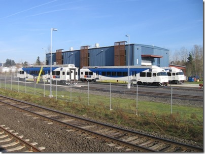 IMG_5017 TriMet Westside Express Service DMUs in Wilsonville, Oregon on January 14, 2009