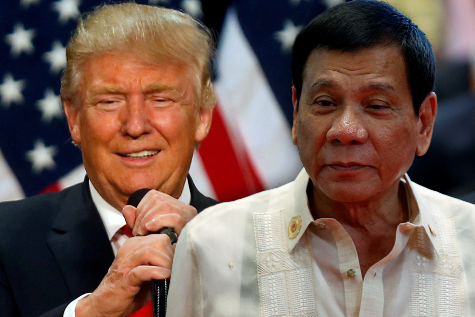 Image of President Duterte Congratulates the New American President Elect Donald Trump